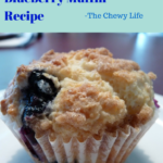 Moist and Fluffy Blueberry Muffins