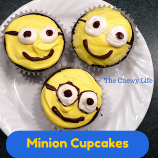 Cute and Easy Minion Cupcakes