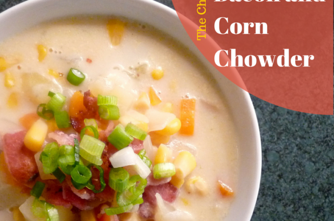 summer bacon and corn chowder