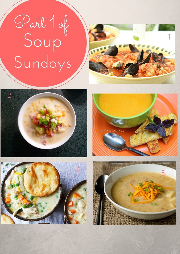 part one Soup sunday