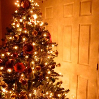 Make your Fake Christmas Tree look Spectacular