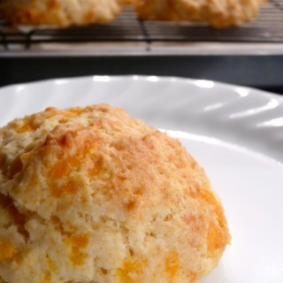 Cheesy Scoop Biscuits