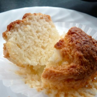 Coconut Pound Cake Muffins